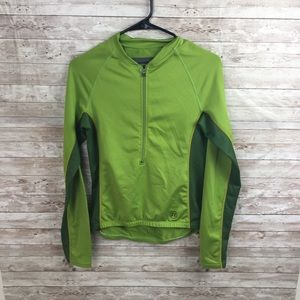 Novara Green Bike Jacket Size Small